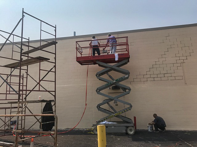 Commercial / Industrial Building Exterior Painting