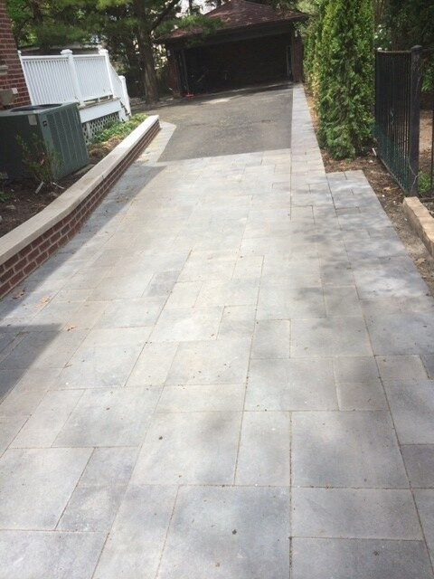 Installed Driveway